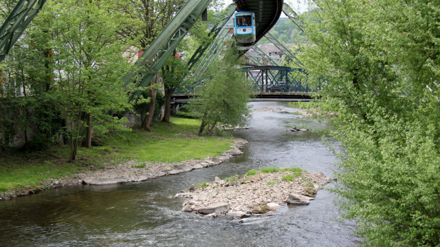 Wupper am Arrenberg in Wuppertal