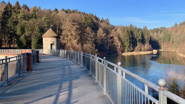Ronsdorfer Talsperre, Staumauer